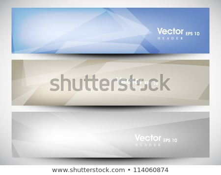 set of colorful technical banners stock photo © orson