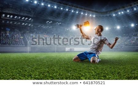 Soccer champ Stock photo © lovleah