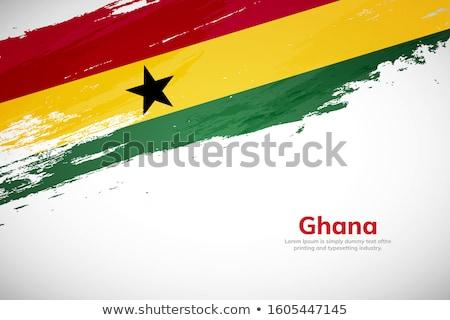 Grunge Flag of Ghana Stock photo © HypnoCreative