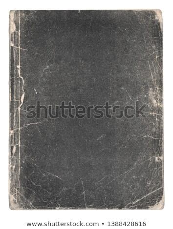 brun · recycler · papier · couvrir · note · livre - photo stock © marimorena