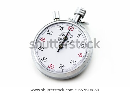 The stopwatch on the white Stock photo © Traven