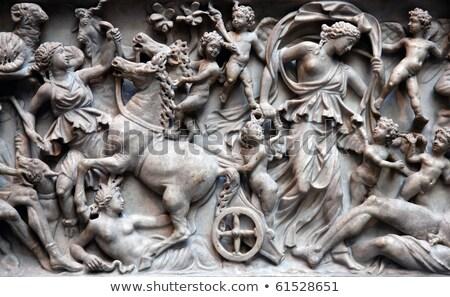 ancient roman sarcophagus stock photo © kacpura