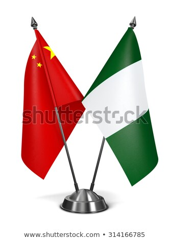 Miniature Flag of China (Isolated) stock photo © bosphorus