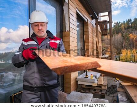 Artesano dos madera trabajo Foto stock © photography33