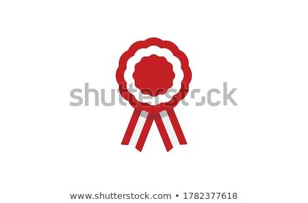 Austria rosette flag Stock photo © milsiart