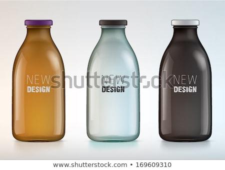 Big glass of refreshment. Stock photo © lithian