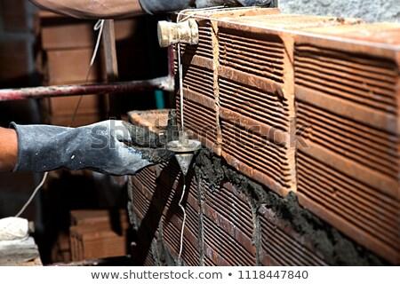 builder · guardando · distanza · uomo · costruzione · lavoro - foto d'archivio © photography33
