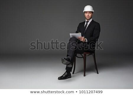 giovani · artigiano · sorridere · strumenti · lavoratore · industriali - foto d'archivio © photography33