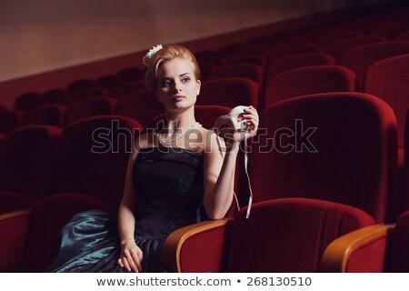 Színpadi stílus színésznő szépség nő szexi Stock fotó © gromovataya