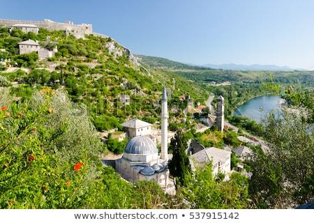 pocitelj village near mostar in bosnia  Stock photo © travelphotography