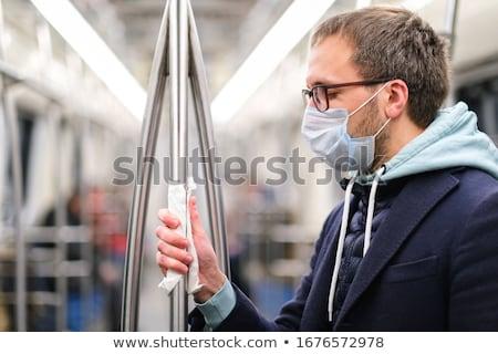 Controlar transporte público mão trabalhar máquina cartão Foto stock © photography33