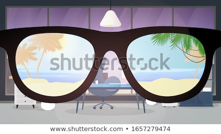 woman with sun glasses holding can Stock photo © imarin