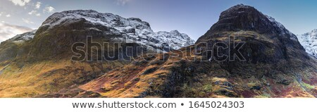 glencoe in october scottish highlands scotland uk stock photo © julietphotography