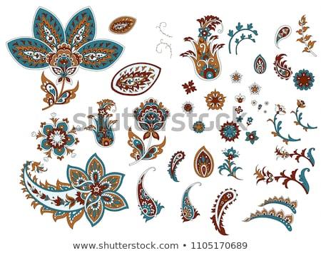 zomer · henna · grens · gedetailleerd · kamer - stockfoto © creative_stock