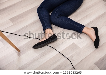 Careless female electrician Stock photo © photography33