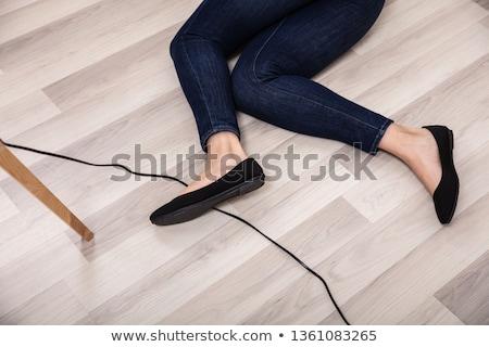 descuidado · eletricista · homem · trabalhador · comunicação · industrial - foto stock © photography33