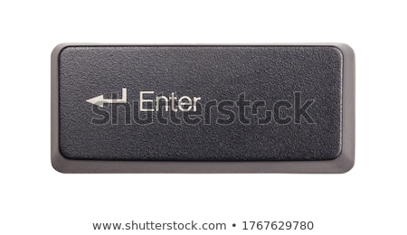 Stock fotó: Billentyűzet · belépés · számítógép · iroda · munka · narancs