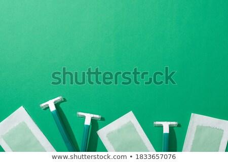 Green Razor Stock photo © winterling