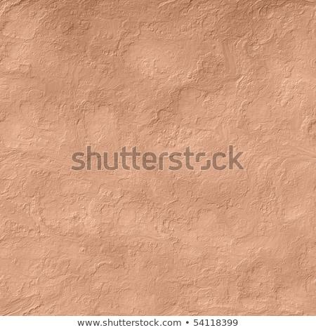 Seamless Texture of Red Decorative Plaster Wall. Stock photo © tashatuvango