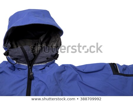 waterproof breathable paddling jacket with hood Stock photo © PixelsAway