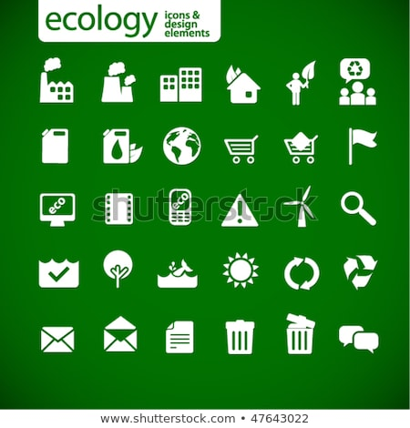 new ecology icons 2 stock photo © radoma