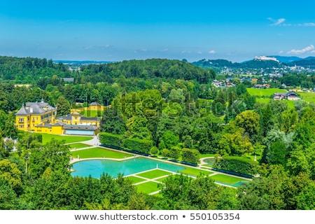 трюк замок Австрия 2012 воды играх Сток-фото © frank11