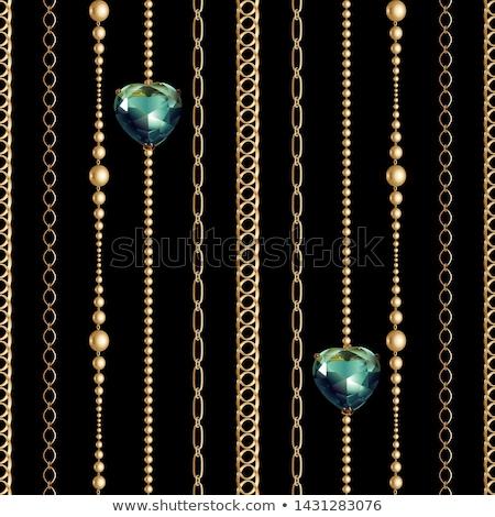 cadeia · cortinas · longo · grande · preto · e · branco · vertical - foto stock © ABBPhoto