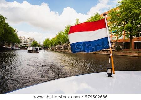 アムステルダム オランダ語 フラグ スカイライン オランダ 花 ストックフォト © compuinfoto