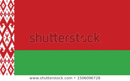 national colours of Belarus Stock photo © perysty