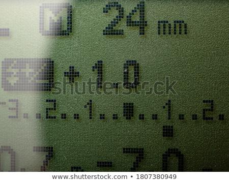 macro shot of a flash control system of a camera stock photo © pxhidalgo