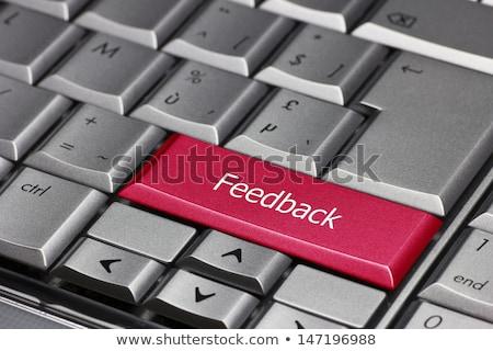 geribesleme · bilgisayar · anahtar · mavi - stok fotoğraf © redpixel