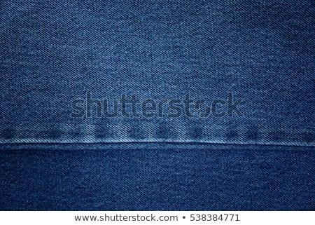 Torn blue jeans texture Stock photo © stevanovicigor