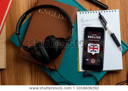 learn to be a better listener book concept stock photo © maxmitzu