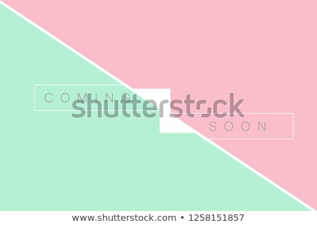 Hamarosan jön klasszikus terv szín áramlás keret Stock fotó © tashatuvango