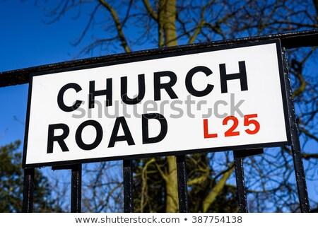 Igreja Liverpool ouvir oposto primeiro tempo Foto stock © chrisdorney