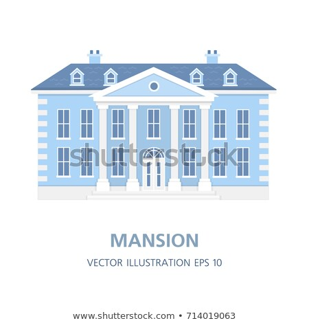 Old Big Mansion Stock photo © zhekos