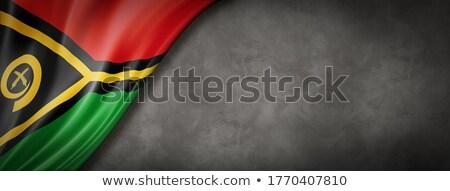 Vlag van Vanuatu Stockfoto © Daboost