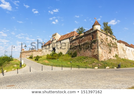 citadel of brasov Stock photo © tony4urban