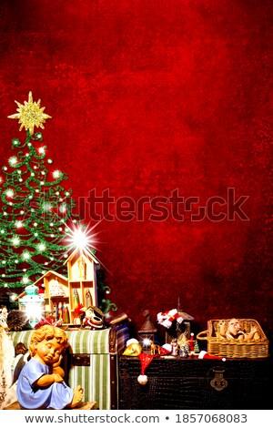photo · frame · natal · cartão · vazio · quadro · de · imagem - foto stock © marimorena