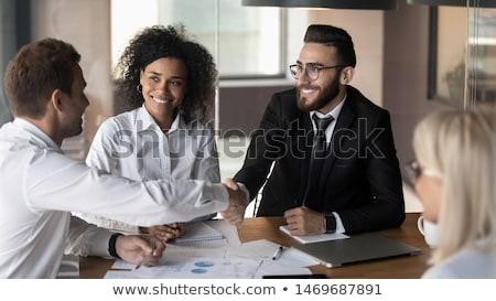 Making an agreement Stock photo © pressmaster