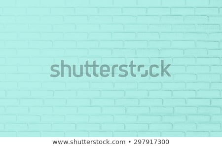 old green brick wall toned stock photo © stevanovicigor