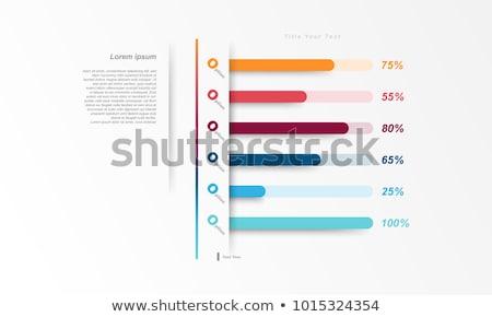 vector · vooruitgang · bars · ingesteld · schone · kleur - stockfoto © pinnacleanimates