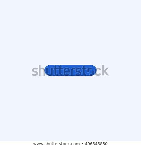 Eksi imzalamak kırmızı vektör ikon dizayn Stok fotoğraf © rizwanali3d