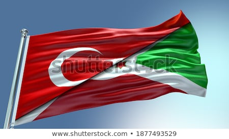 Turkey and Burundi Flags Stock photo © Istanbul2009