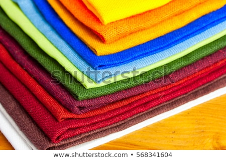 Colorful table linen Stock photo © Digifoodstock