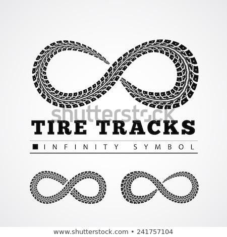 neumático · infinito · forma · coche · textura - foto stock © m_pavlov