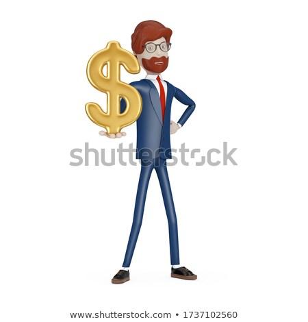 3d · persona · mendicante · illustrazione · 3d · senza · speranza · uomo · soldi - foto d'archivio © kzenon