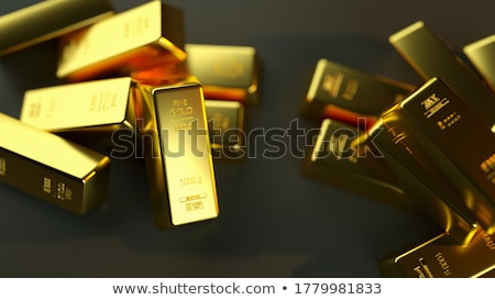 closeup of gold bullion Stock photo © OleksandrO