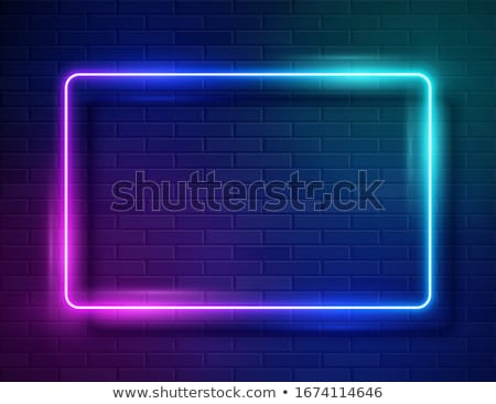 abstract bright vector glowing background stock photo © saicle
