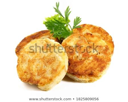 Brood gekookt bijgerecht kruid peterselie Stockfoto © Digifoodstock